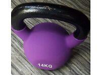 JLL - Neoprene Covered Kettlebell - 14kg