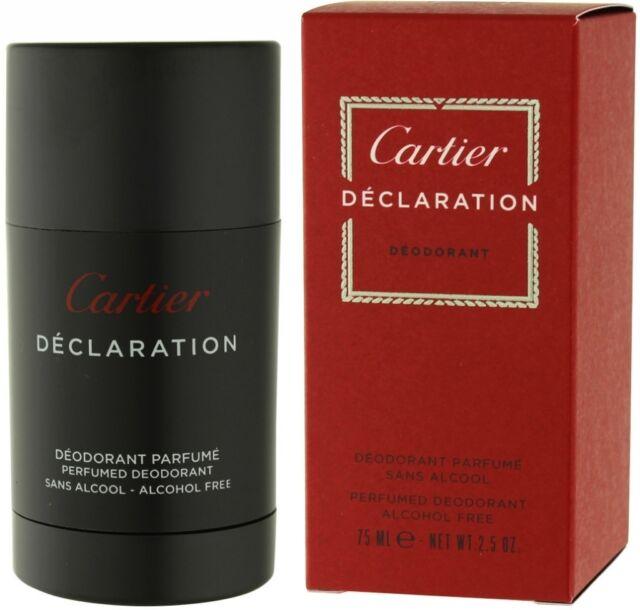 Cartier Declaration deodorant stick for men 75ml NEW