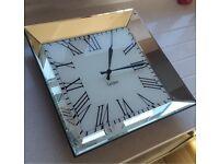 NEXT - Mirrored Wall Clock