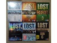 """LOST"" Complete Series 1 - 6 DVD Box Sets"