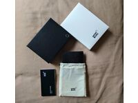 Mont Blanc Meisterstuck Selection Wallet 4cc/Coin Comprtment - New with all packaging and paperwork