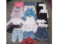 Lovely Bundle of Baby Girls Clothes 12-18-24 months - 19 items
