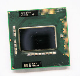 Intel Core i7-720QM - 1.6 Ghz (Turbo 2.8 Ghz) - 6 Mb - SLBLY - G1 Socket