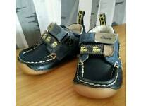 Clarks baby first shoes size 3 F