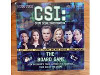 CSI Crime Scene Investigation Board Game