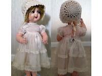 "Antique Doll: Kammer & Reinhardt: K&R Germany: Celluloid 16""-17"" tall"