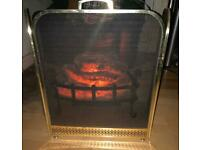 Electric heater - wood fire effect