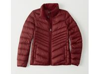 NEW Abercrombie and Fitch Womens Coat/Jacket/Waterproof RRP £120