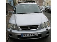 Honda CRV-ES 2001 MOT to Oct 2018