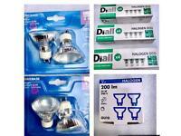 Bulbs GU10, 28W, 240V, new