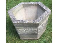 Hexagonal Shaped Garden Pot