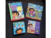 4 Dora The Explorer Books