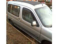 Berlingo multispace forte with full sun roof in good condition