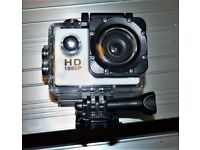 Action Camera – HD 1080P – With Accessories