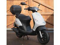 50cc As NEW Piaggio Zip