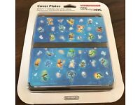 Pokemon 3DS Cover Plates (Brand New)