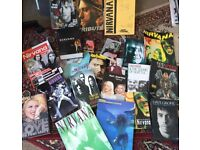 NIRVANA book collection - job lot