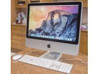 "Dual Core 20"" 2 Ghz Apple iMac 2Gb 250GB Native Instruments Massive FM8 GarageBand Reason Cubase 8"