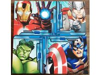 Marvel Superheroes canvas