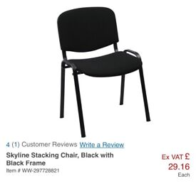 Stackable chairs (4)
