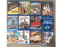12 Blu-Rays All great condition - £15