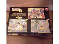 Jigsaw puzzle collectors box