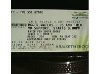 Roger Waters Tickets. Friday June 29th. Sold out first night. 2 Tickets Available.