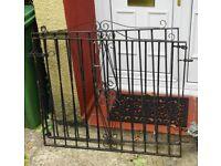 Pair Wrought Iron Gates. (used)
