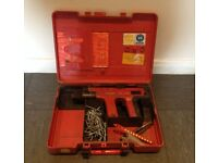 Hilti DX-450 Nail Gun with Carry Case, Fully Tested by Hilti Glasgow.
