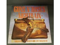 Guns N' Roses – Nightrain - UK - 1989 - Geffen Records - GEF 60T