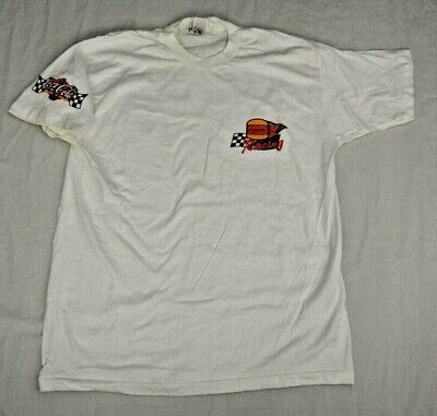 Vintage Burger King Racing / Coca-Cola Racing T-Shirt - Size XL - FREE SHIPPING