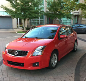 2012 NISSAN SENTRA SR, excellent condition