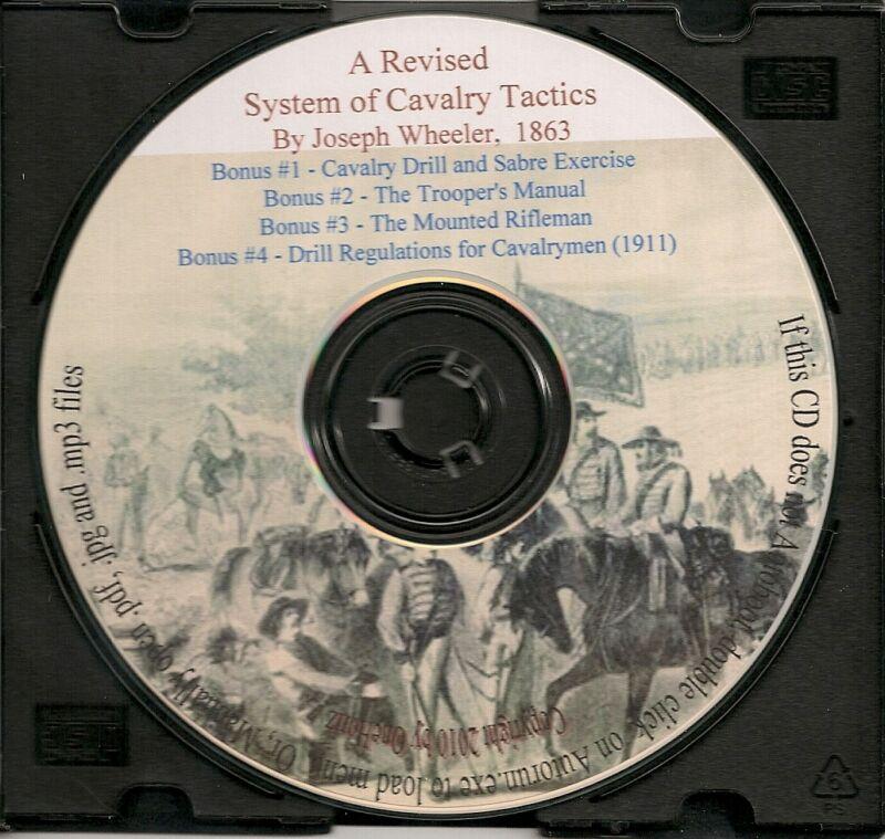 Cavalry Manual and Tactics - Civil War History