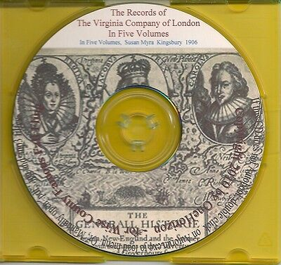 Records of the Virginia Company of London - Complete