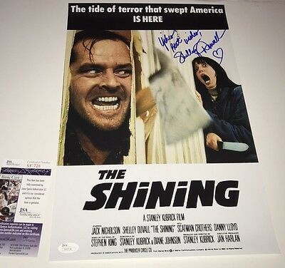 Shelley Duvall Signed The Shining 11X17 Photo Autograph Jsa Coa Rare