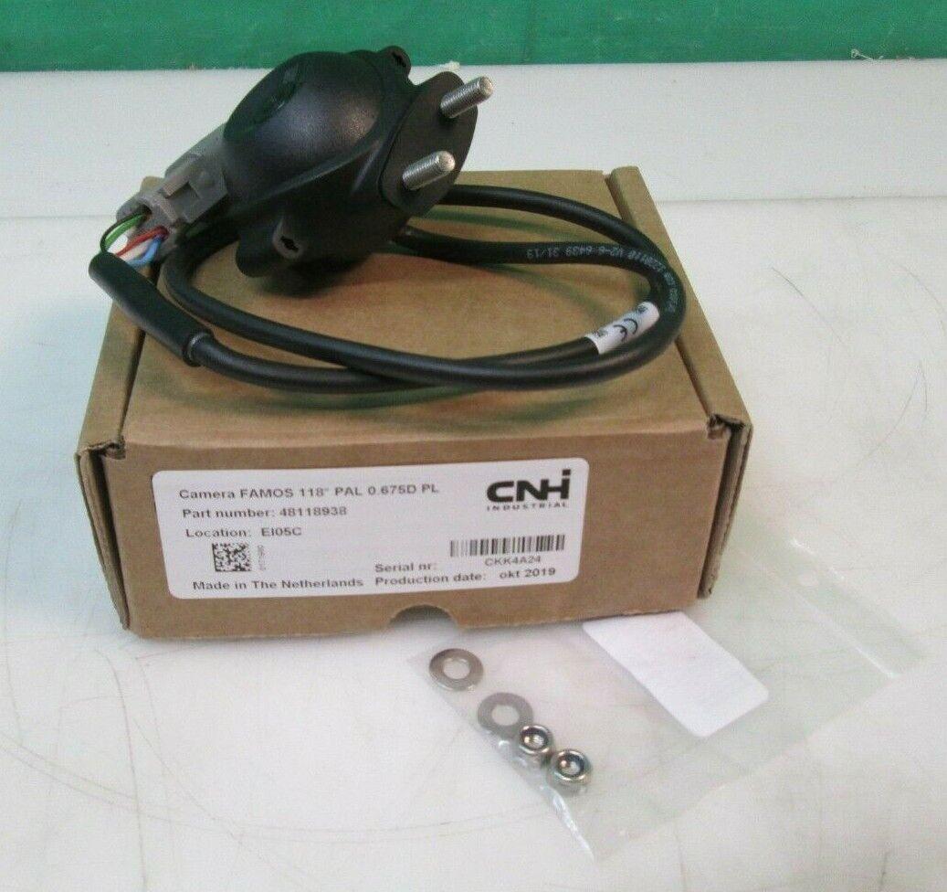 CNH Orlaco 4 Pin FAMOS camera 118º PAL 48118938 0.675D PL NEW FREE SHIPPING