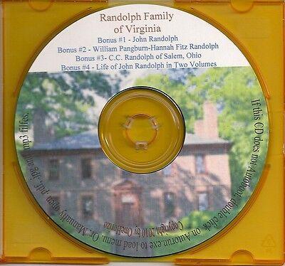 Randolph Family of Virginia + Bonus Books