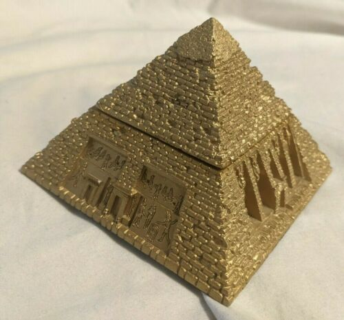 Summit Collection Ancient Egyptian Egypt Pyramid Box Container