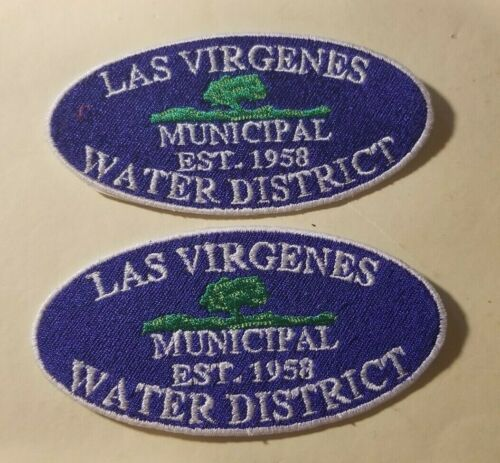 Las Virgenes Municipal Water District (Calabasas, CA) Patches - Set of 2