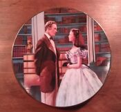 W L George Plates Gone with The Wind