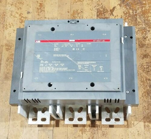 ABB Asea Brown Boveri AF1650T-30 Contactor 1650A 600V 1150HP 1000kW Coil 230-240