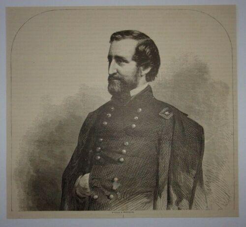 1866 William S. Rosecrans (Civil War) Engraving