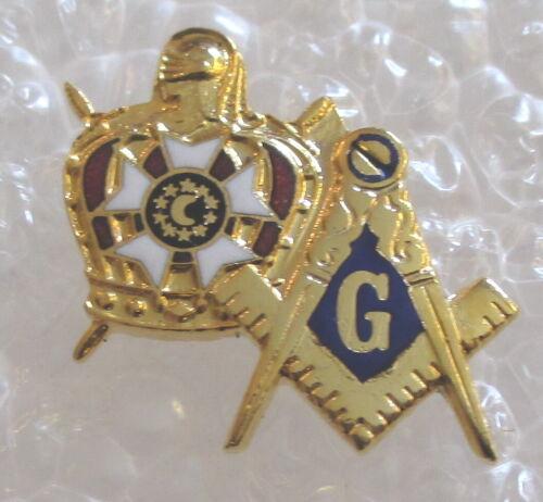 Masonic DeMolay Member Pin - Freemason Mason Lapel / Hat Badge