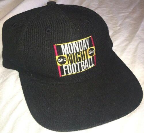 Vtg ABC Sports MONDAY NIGHT FOOTBALL HAT Rare Baseball Cap LOGO Snapback PROMO