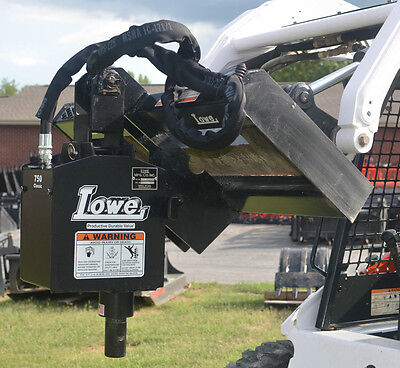 Bobcat Skid Steer Attachment Lowe 750 Classic Round Auger Drive Unit - Ship 199