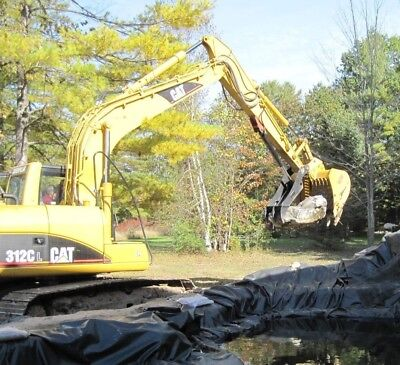 Caterpillar 312 Excavator Hydraulic Pin On Thumb Grapple Brush Clamp 311 313 314
