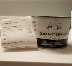 Annie Sloan Chalk Paint Wax - Clear