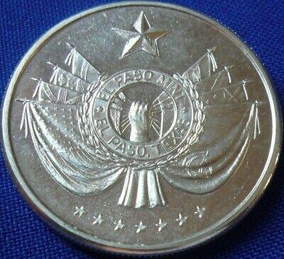 Vtg Texas El Paso Mint 1974 Eagle 1 Troy Oz .999 Silver Round Coin (138)