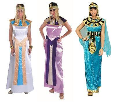 Ägypterin Kostüm Kleid Cleopatra Pharao Pharaonin Pharaoh Kleopatra Damen (Kostüm Cleopatra)