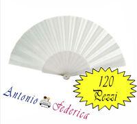 120 Pezzi Ventagli Bianchi Personalizzati Matrimonio Wedding Stampa Etichetta - bianchi - ebay.it